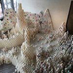 紙コップのインスタレーションツアーが東京都美術館で!!