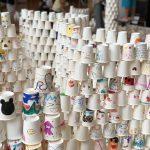 GM屋嘉部正人が岐阜県飛驒市の市文化交流センターにて「紙コップのインスタレーション」